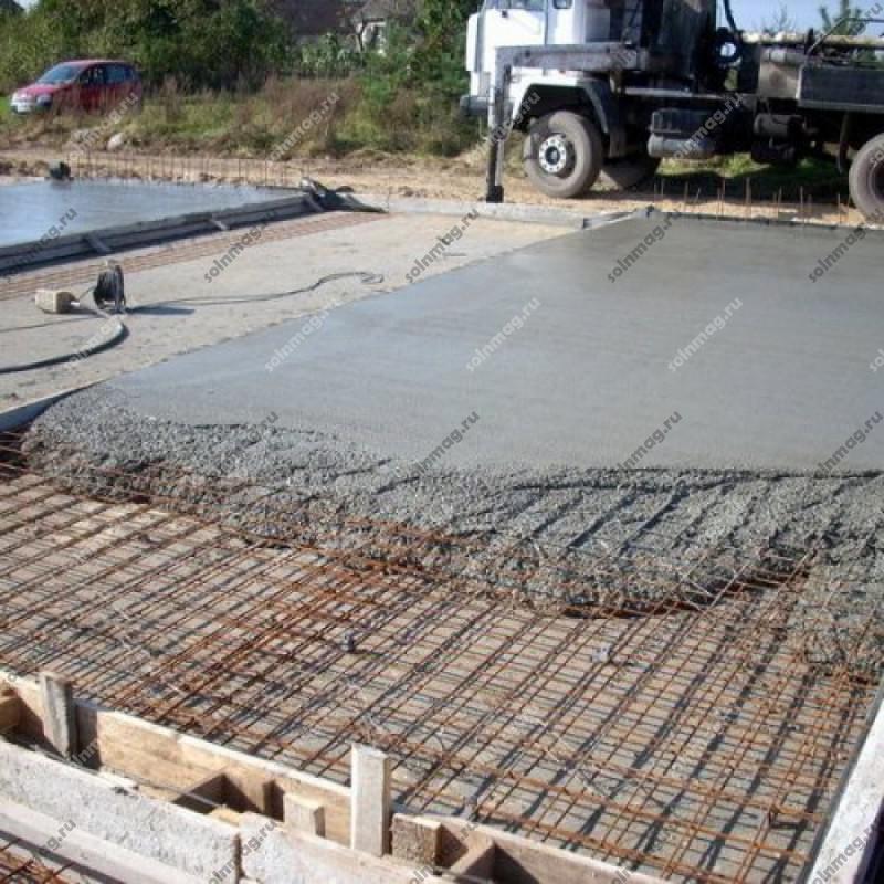 Сколько стоит пол бетонный заливать